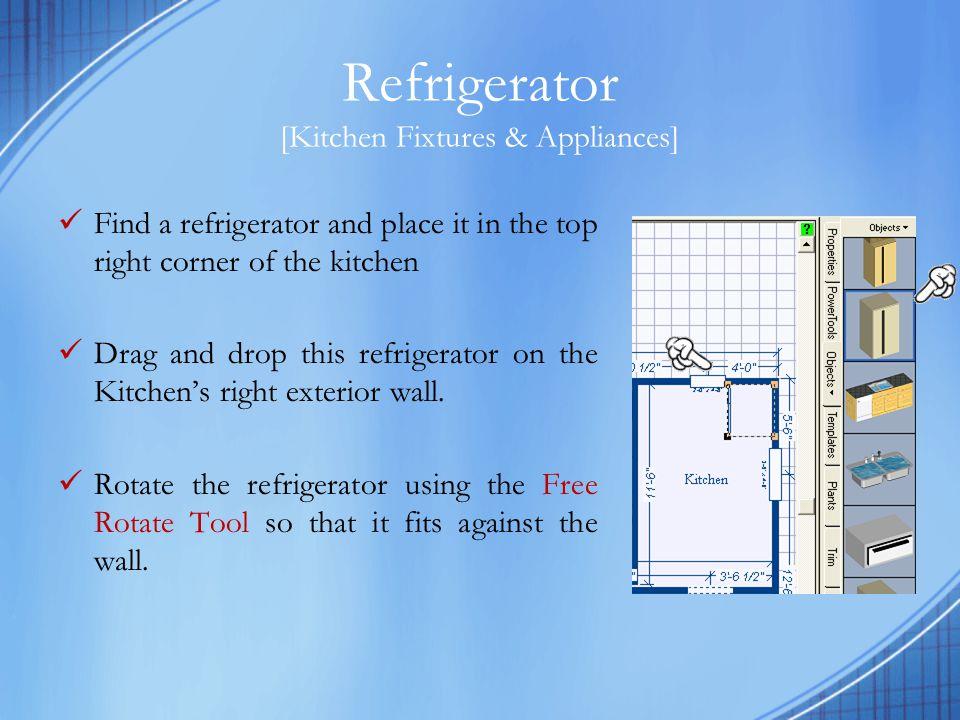 Refrigerator [Kitchen Fixtures & Appliances]